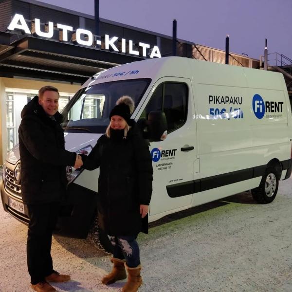 Uutta pakettiautokalustoa Lappeenrantaan | Car Renters Finland Oy